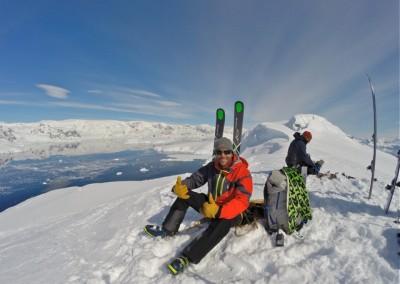 Hanging in Antartica